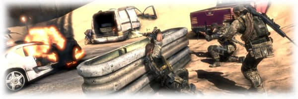 Face tough moral decisions in Spec Ops: The Line on PlayStation 3 at GAME