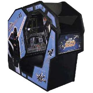 The classic star wars arcade game - a first in so many ways