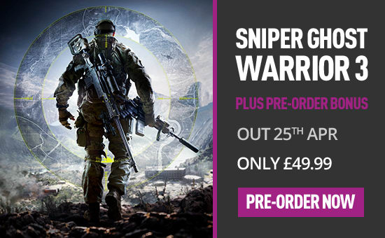 Sniper Ghost Warrior 3 for PS4 at game.co.uk