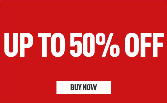 Up to 50% Off - Homepage eSpot