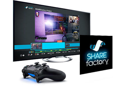 PlayStation 4 - Share the Fun instantly