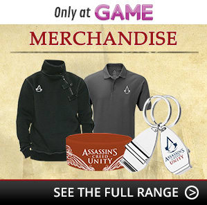 Assassin's Creed Unity Merchandise
