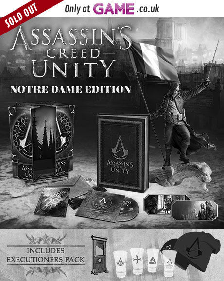 Assassins Creed Unity Notre Dame Edition With Executioners Pack