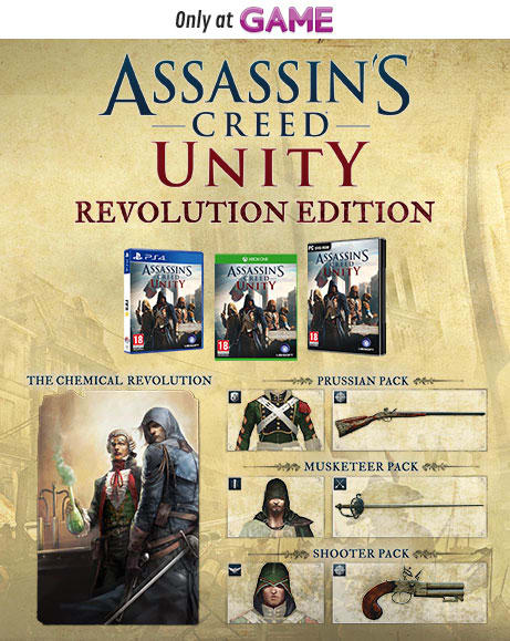 Assassins Creed Unity Revolution Edition
