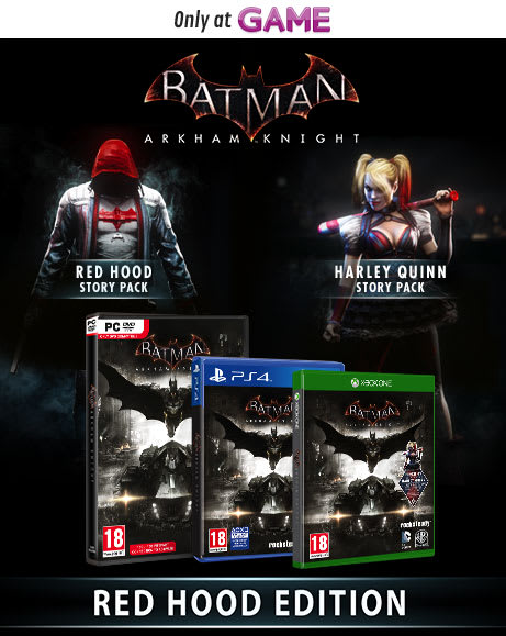 Batman Arkham Knight Red Hood Edition