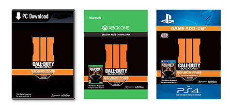 Call of Duty: Black Ops III Season Pass