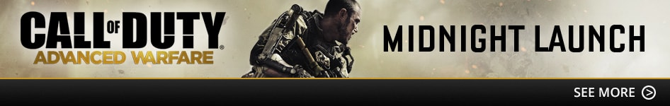 Find out about the Call of Duty: Advanced Warfare Midnight Launch