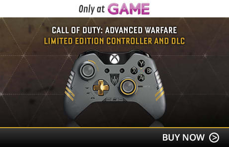 Call of Duty: Advanced Warfare Limited Edition Controller and DLC