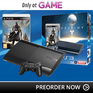 PlayStation 3 Console Bundle with Destiny