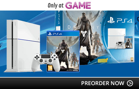 PlayStation 4 Console Bundles with Destiny