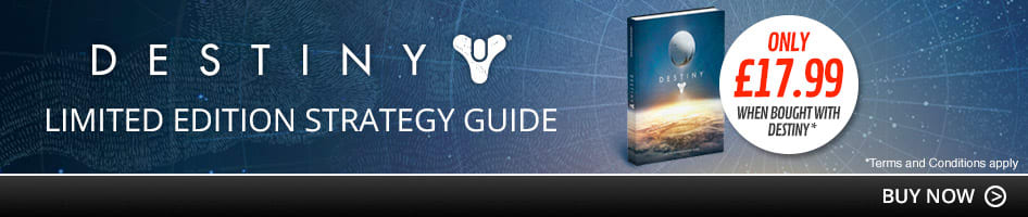 Limited Edition Strategy Guide only £17.99 when bought with Destiny