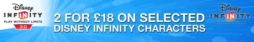 Disney Infinity 2.0 2 for £18 on Selected Characters
