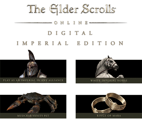 The Elder Scrolls Online: Tamriel Unlimited Digital Imperial Edition