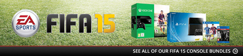 FIFA 15 Xbox One and PlayStation 4 Console Bundles
