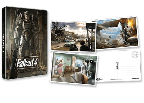 Fallout 4 Steelbook Pack