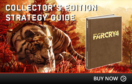Far Cry 4 Collector's Edition Strategy Guide