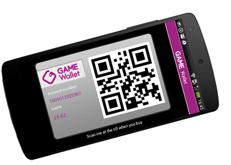 GAMEWallet in the GAME App