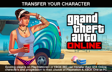 Transfer your online characters and progression from Xbox 360, PS3 and PC to Xbox One and PS4