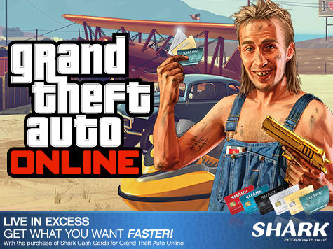 Grand Theft Auto Online - Shark Cash Cards