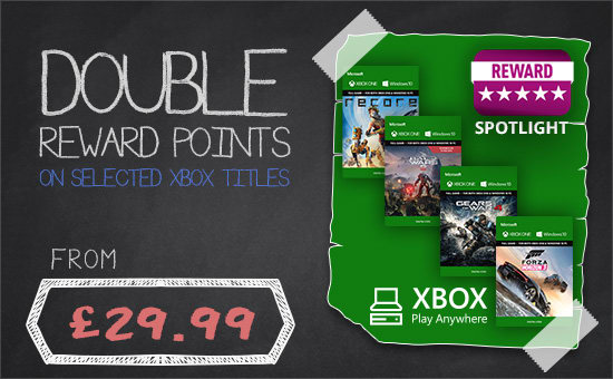 Double Reward Points Xbox Anywhere