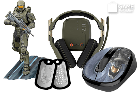 Halo Games & Merchandise
