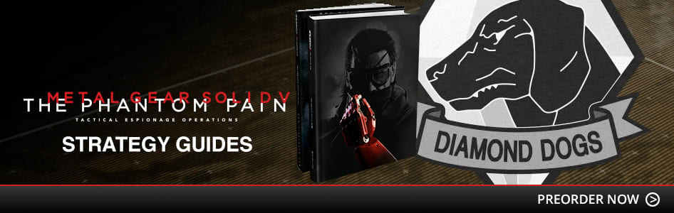 Metal Gear Solid V: The Phantom Pain Strategy Guides