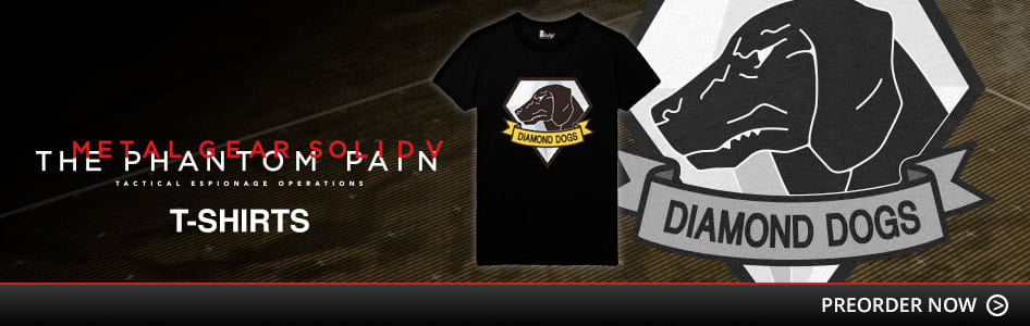Metal Gear Solid V: The Phantom Pain TiShirts