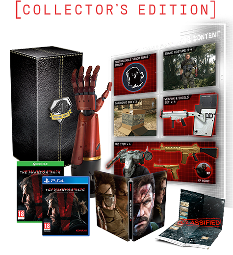 Metal Gear Solid V: The Phantom Pain Collectors Edition