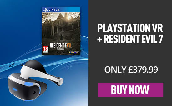 PlayStation VR Headset with Resident Evil VII