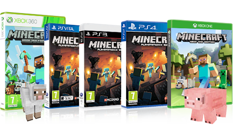 Minecraft Boxed Games