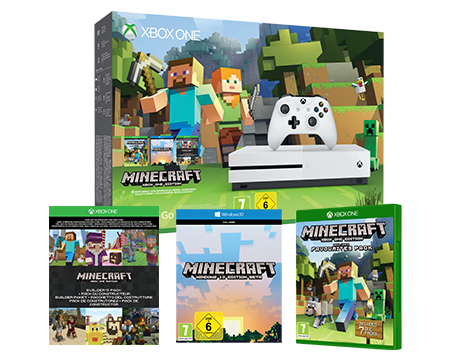 Minecraft Xbox One S Favourites Pack