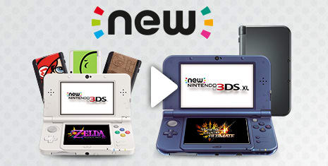 NEW Nintendo 3DS & Nintendo 3DS XL