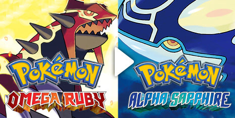 Pokemon Omega Ruby and Pokemon Alpha Sapphire