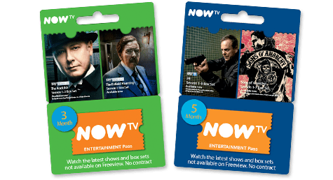NOW TV Entertainment Pass