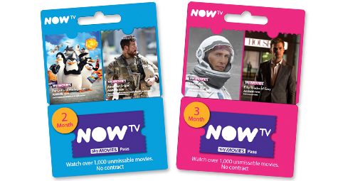 NOW TV Sky Movies Pass