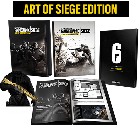 Tom Clancy's Rainbow Six: Siege The Art of Siege Edition