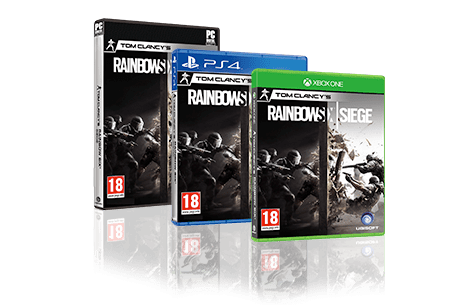 Tom Clancy's Rainbow Six: Siege Closed Standard Edition