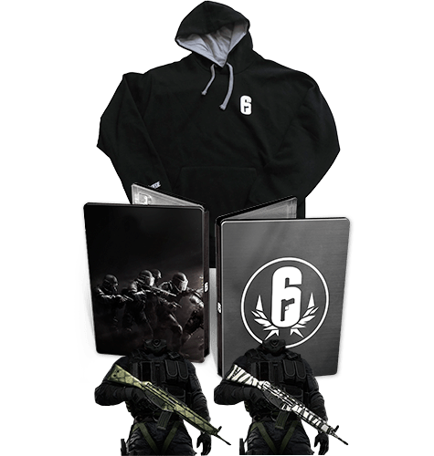 Tom Clancy's Rainbow Six: Siege Limited Edition with Hoodie - Only at Game