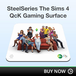 SteelSeries The Sims 4 QcK Gaming Surface