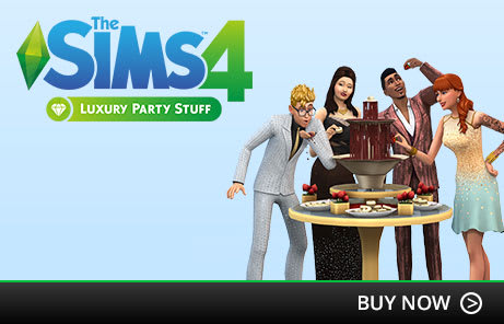 The Sims 4 Luxury Party