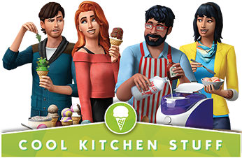 The Sims 4: Cool Kitchen Stuff Pack - Download Now at GAME.co.uk!