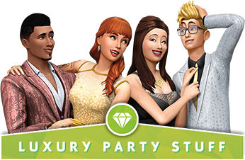 The Sims 4: Luxury Party Stuff Pack - Download Now at GAME.co.uk!