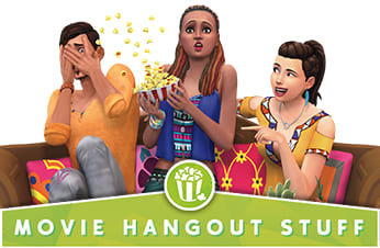 The Sims 4: Movie Hangout Stuff Pack - Download Now at GAME.co.uk!