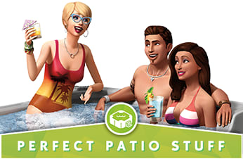 The Sims 4: Perfect Patio Stuff Pack - Download Now at GAME.co.uk!