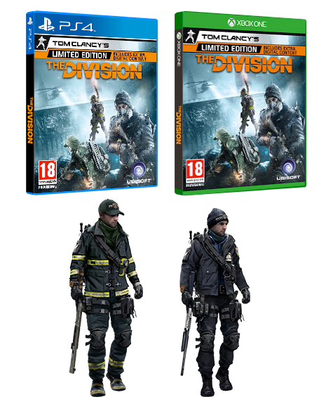 Tom Clancy's The Division Limited Edition - Only at GAME