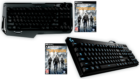 Tom Clancy's The Division Digital Download with Logitech Keyboard
