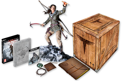Rise Of The Tomb Raider Collector's Edition - Buy Now at GAME.co.uk
