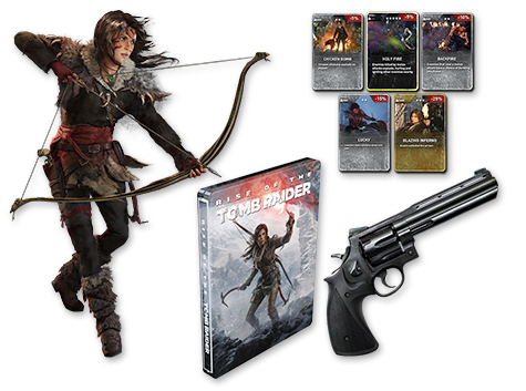 Rise of the Tomb Raider Apex Predatior Pack - Only at GAME