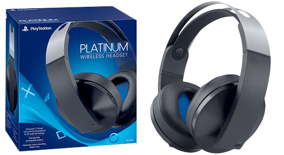 Wireless Pro Platinum Headset