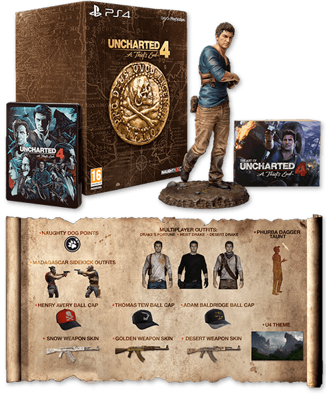 Uncharted 4: A Thief's End - Libertalia Collector's Edition - Only at GAME